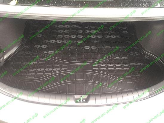 оригинальный коврик в багажник хендай солярис 2