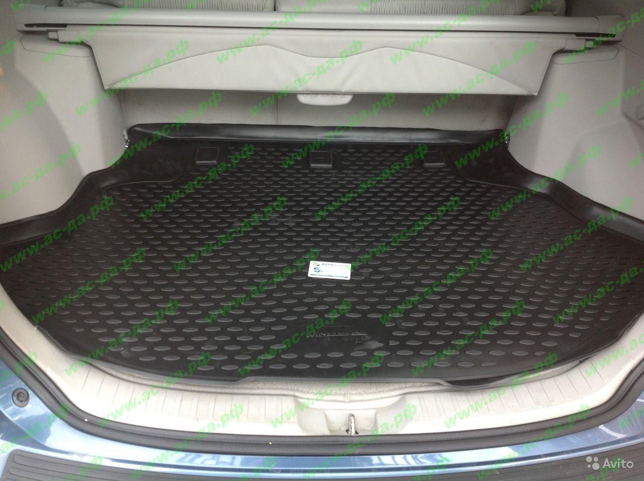 синтетический коврик в багажник Toyota Венза #1