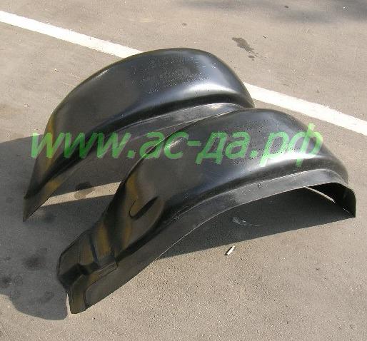 подкрылки передние для мицубиси паджеро 2
